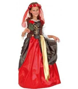 Disfraz Dama del renacimiento 10-12