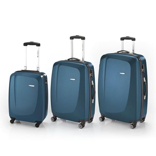 Juego de 3 maletas Gabol Line azul