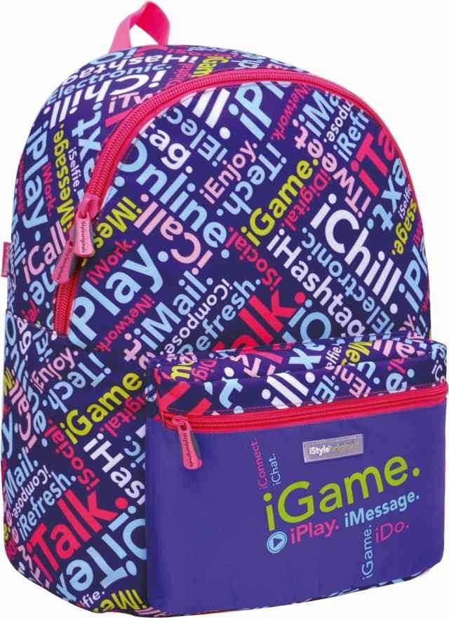 Mochila Escolar iStyle Multicolor Purple