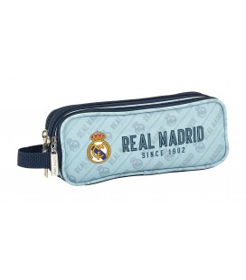 Portatodo Tres Compartimentos Real Madrid Blanco