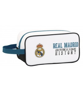 ZAPATILLERO MEDIANO REAL MADRID BLANCO