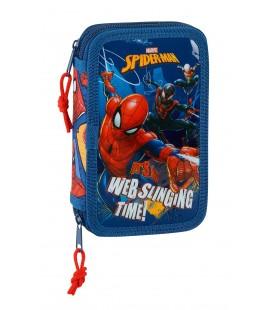 Plumier Doble Pequeño Spiderman