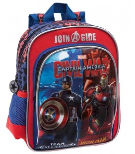 Mochila Adaptable Guarderia Capitan America