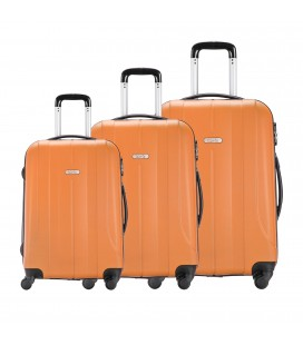 Set 3 Trolley 55-65-75 Talento Lances Naranja