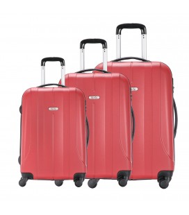Set 3 Trolley 55-65-75 Talento Lances Rojo
