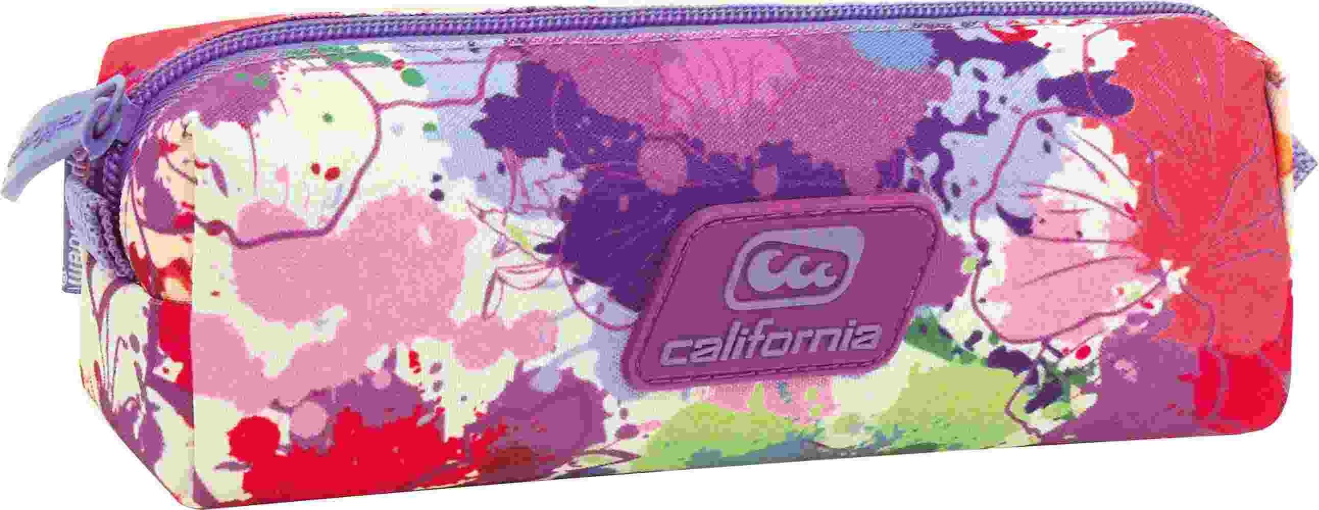 Estuche Cuadrado California Splash