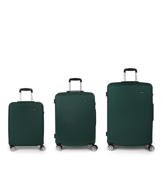 82600e8cd Set 3 Maletas C22-M-L Gabol Mondrian Verde   Comprar Set 3 Maletas ...