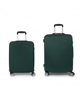 Set 2 Maletas C22-M Gabol Mondrian Verde