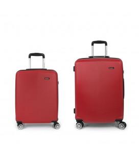 Set 2 Maletas C22-M Gabol Mondrian Rojo