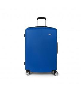 Maleta Trolley Grande Gabol Mondrian Azul