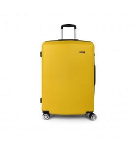 Maleta Trolley Grande Gabol Mondrian Amarillo