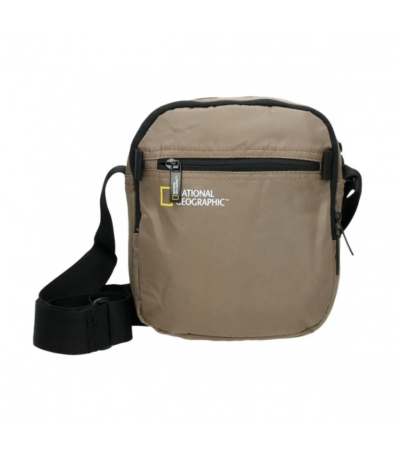 BOLSO BANDOLERA NATIONAL GEOGRAPHIC TRANSFORM BEIGE