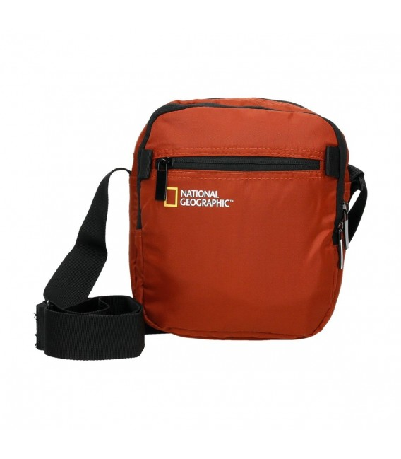 BOLSO BANDOLERA NATIONAL GEOGRAPHIC TRANSFORM NARANJA