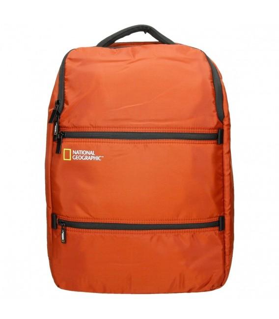 Mochila Portaordenador National Geographic Transform Naranja  e15365cb647bf