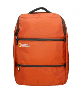 Mochila Portaordenador National Geographic Transform Naranja