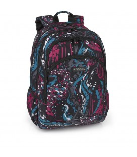 Mochila carro 4R Cars hometown multicolor