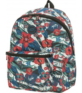 Mochila Teen Escolar California Cebra