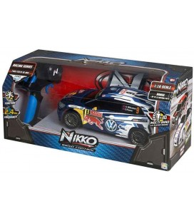 Coche Nikko 1:16 Scale Racing VW Polo WRC