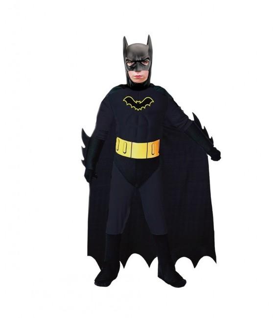 Disfraz de Heroe Black Bat Talla. 7-10 años