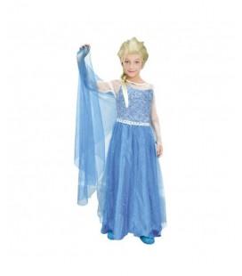 Disfraz Princesa del Hielo talla 7-10