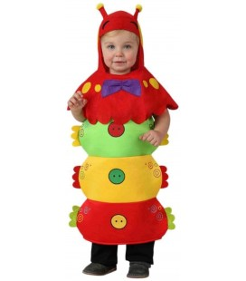 Disfraz Gusano Baby Talla 6-12 meses