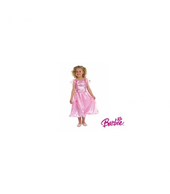 Disfraz Barbie talla 3-5