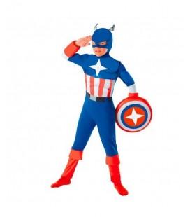 Disfraz Heroe America Talla. 4-6