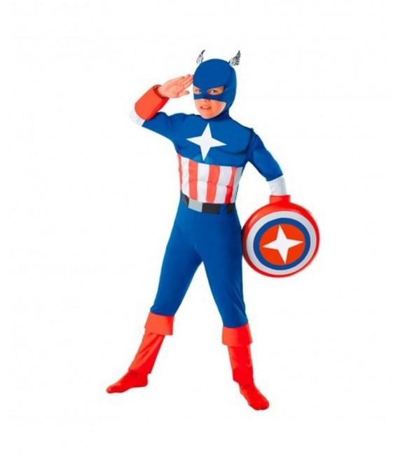 Disfraz Heroe America Talla. 2-4