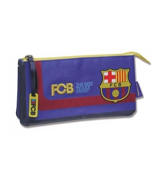Estuche portatodo triple Barcelona CF