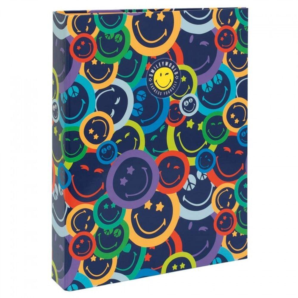 Carpeta 4 Anillas Smiley Color