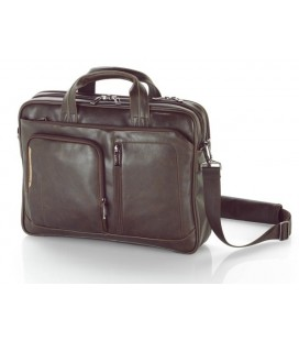Cartera Gabol Shadow 2D para portatil Chocolate