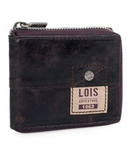 Cartera Billetero Lois Selway Marrón
