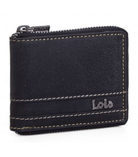 Cartera Billetero Lois Illinois Negro