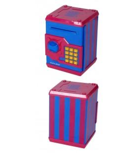 Hucha MI caja fuerte azul