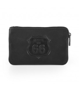 Monedero Route 66 Nebraska Negro