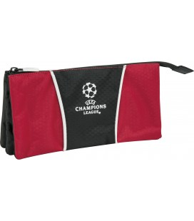 Portatodo Tres Compartimentos Champions Trophy Red