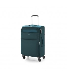Maleta Trolley Mediana Gabol Cloud Turquesa