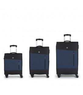 Set 3 Maletas C22-M-L Gabol Saga Azul