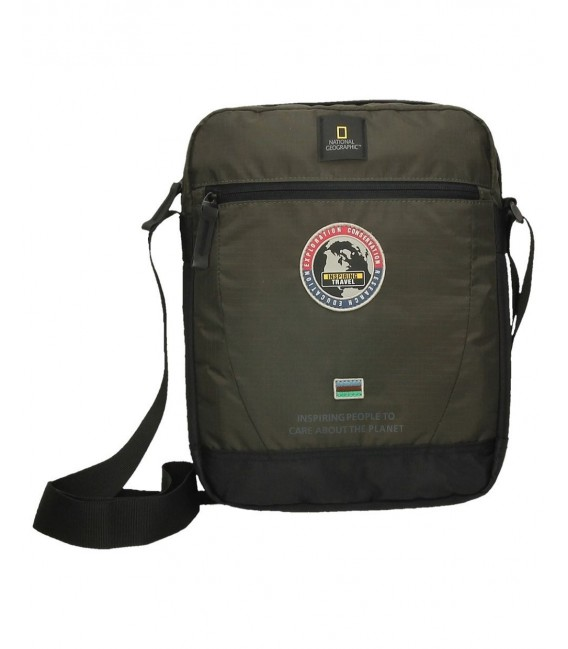 BOLSO BANDOLERA NATIONAL GEOGRAPHIC EXPLORER KAKI