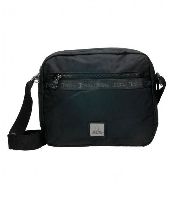 BOLSO BANDOLERA NATIONAL GEOGRAPHIC N-GENERATION NEGRO