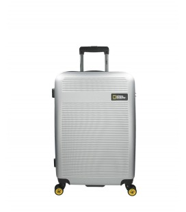 Maleta Trolley Mediana National Geographic Aerodrome Plata