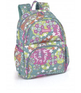 Mochila Escolar Adaptable Mint Gabol
