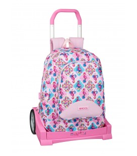Mochila Carro Evolution Moos Flamingo Pink