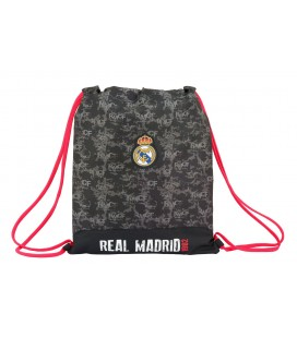 SACO PLANO JUNIOR REAL MADRID BLACK
