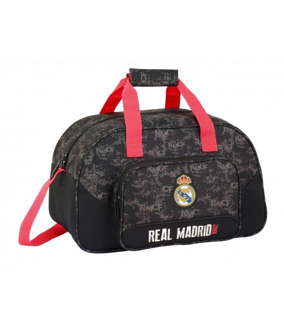 BOLSO DE VIAJE O DEPORTE REAL MADRID BLACK