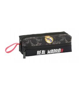 Portatodo Tres Compartimentos Cuadrado Real Madrid Black