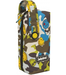 Estuche Multiportatodos Smiley Camu