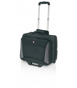 "Maleta Trolley Piloto 17"" Gladiator Compact Case Negro"