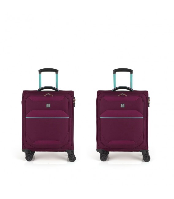 SET 2 TROLLEY CABINA GABOL GIRO BURDEOS