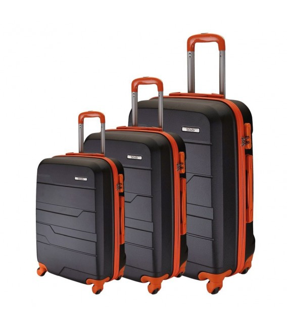 SET 3 TROLLEY 55-65- 75 TALENTO RAP NEGRO